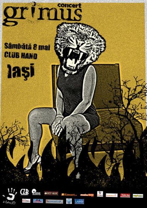 Concert Grimus / Concert Dragos  Sambata, 8 mai 2010 la Club Hand Grimus