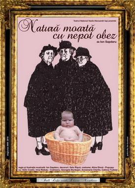 Natura moarta cu nepot obez-Teatrul National Iasi