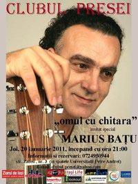 Concert Marius Batu