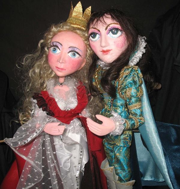 """Teatru de papusi: """"Purcelusul fermecat"""" poza teatrul luceafarul"""