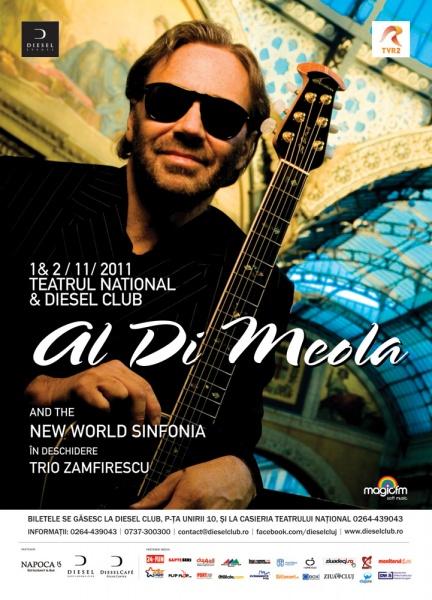 Concert Al Di Meola la Cluj