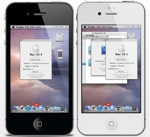 iPhone MAC OS-X