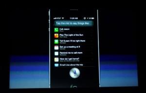 Comanda vocala Iphone 4S