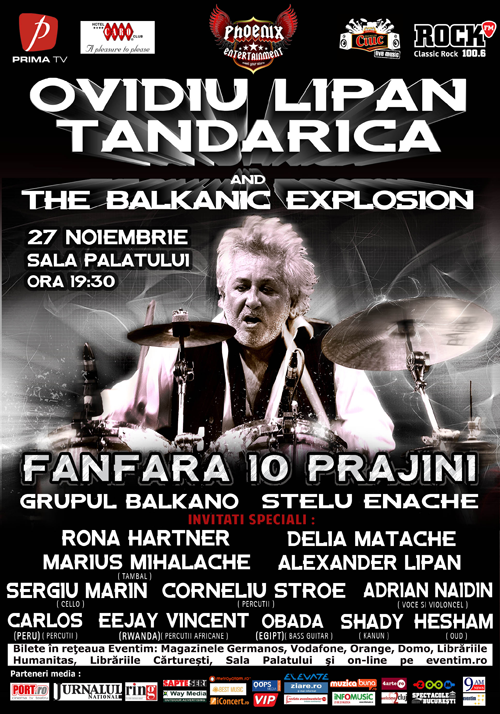 Ovidiu-Lipan-Ţăndărica-and-The-Balkanic-Explosion-afis