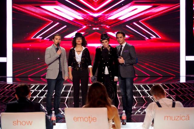 X Factor - Irina si Antonia la duel