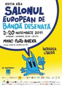 salonul-european-banda-desenata, editia a- II a
