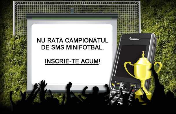 Fotbal prin SMS