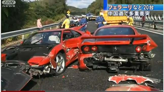 Accident de 3,5 milioane dolari