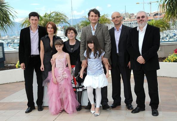 Cristi Puiu si actorii din ''Aurora'' la Cannes