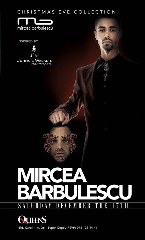 Mircea Barbulescu in Queen's - afis