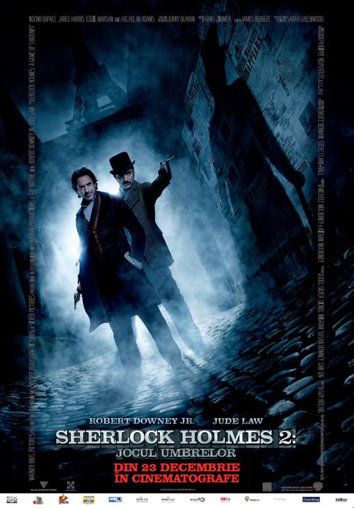 Sherlock Holmes 2- Jocul umbrelor
