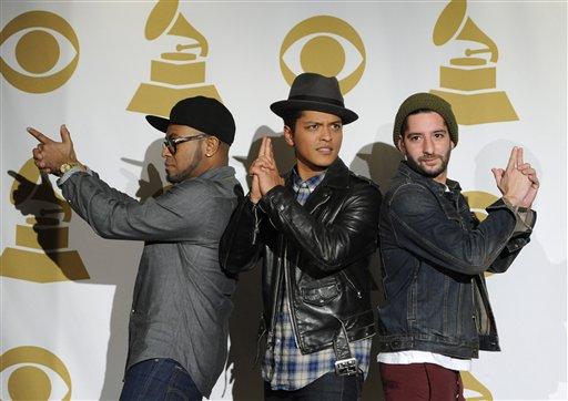 Philip Lawrence, Bruno Mars, Ari Levine