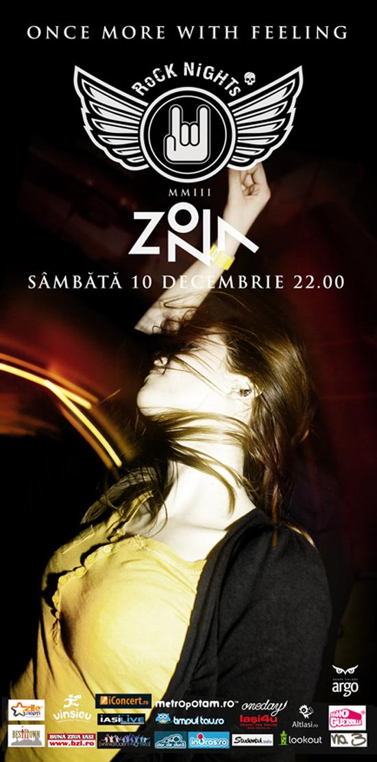 ROCK NIGHTS in ZONA!