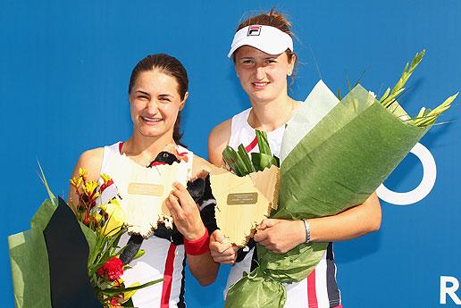 Monica Niculescu si Irina Begu, campioane in proba de dublu, Hobart - Australia