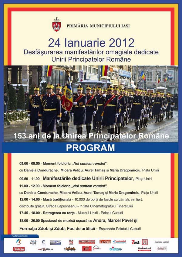 24 ianuarie 2012 la Iasi