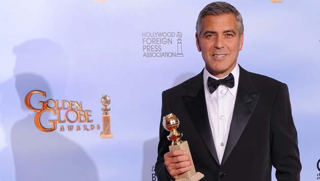 George-Clooney - Globurile de aur 2012