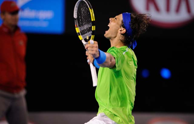 Nadal invingator - semifinala Australian open 2012