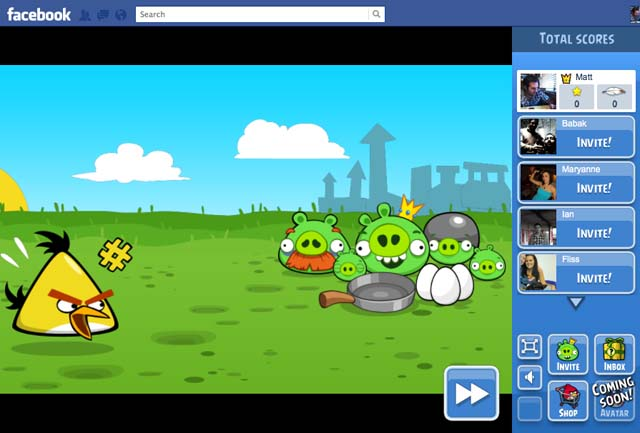 Angry Birds - Facebook