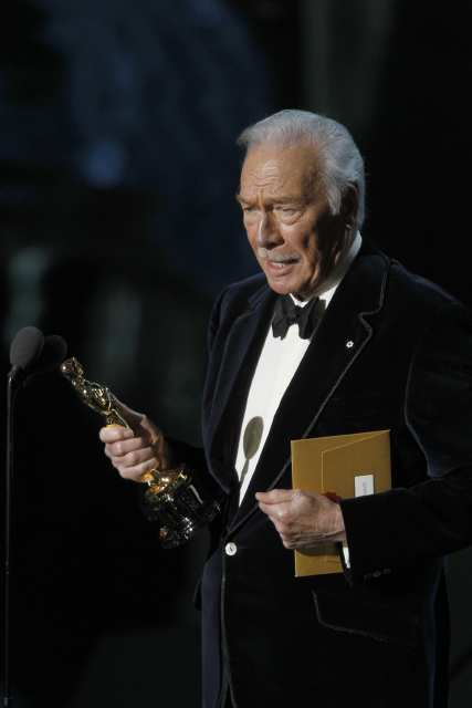 Christopher Plummer - Oscar 2012