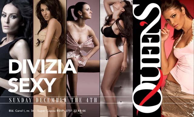 Divizia Sexy in Queens Club