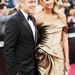 George Clooney si partenera sa, Stacy Keibler