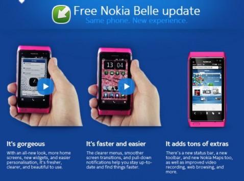 Nokia-Belle update
