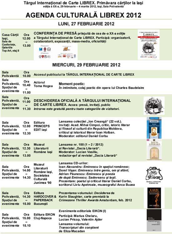 Program librex 2012
