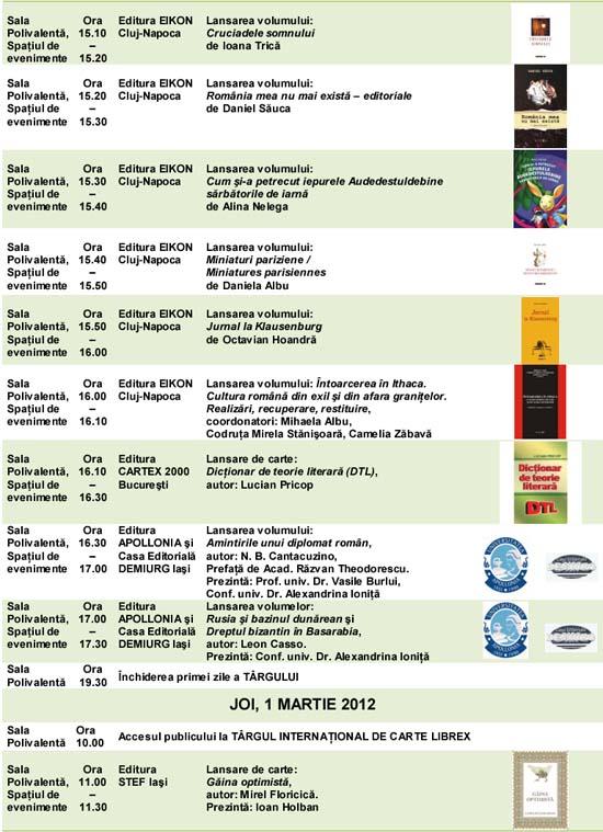 Program Librex 2012- 2