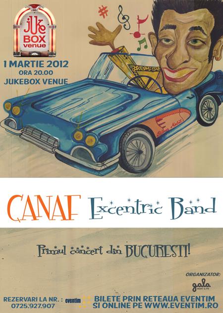 canaf concert in Bucuresti