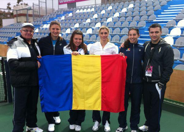 Echipa Romaniei la Fed Cup