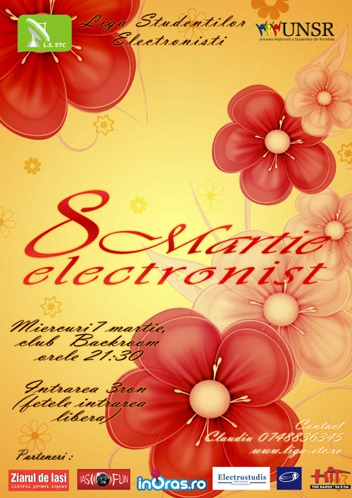 8 martie electronist