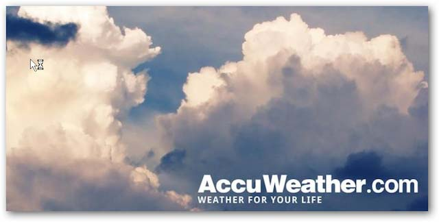 Accuweather Honeycomb