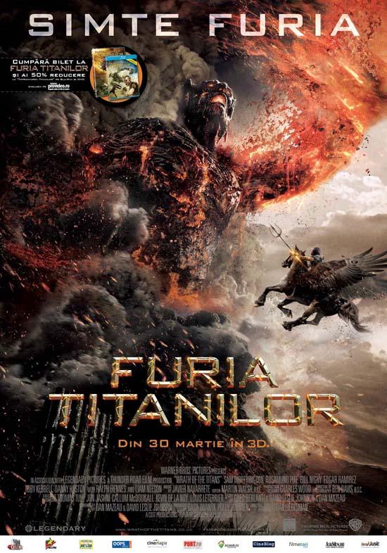Afis Furia titanilor (2012)