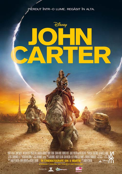 Afis John Carter (2012) 500
