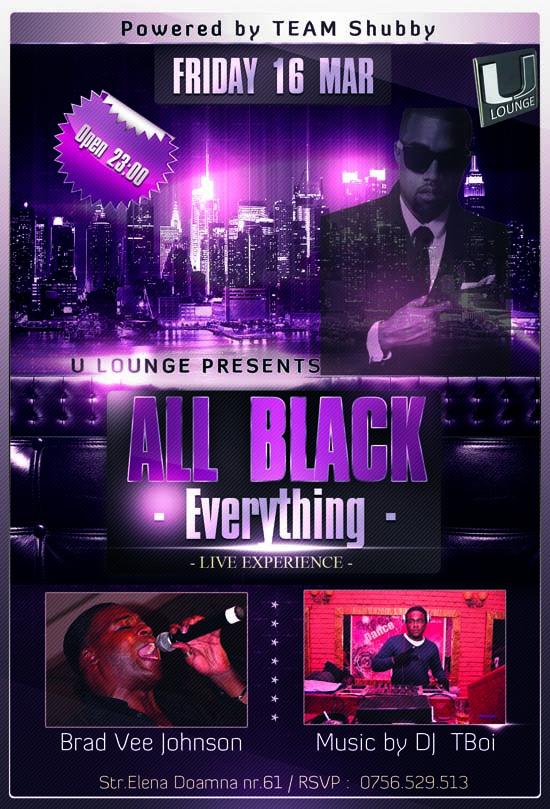 All Black Everything - U Lounge