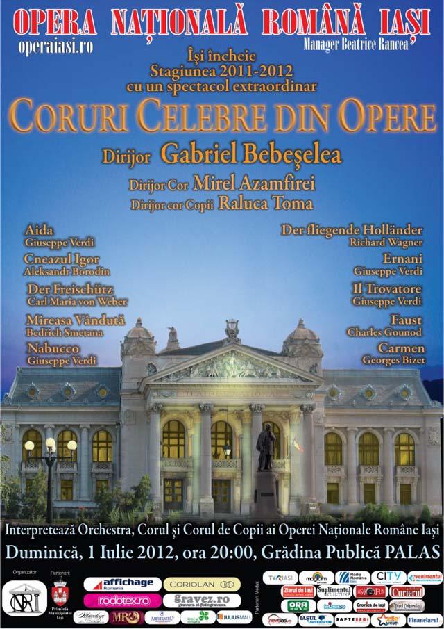 Coruri celebre din opere - Opera Iasi