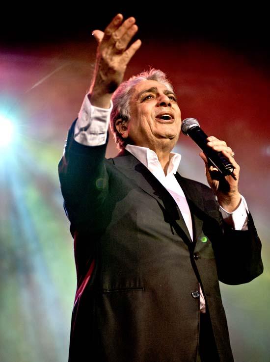 Enrico Macias la Bucuresti - martie 2012