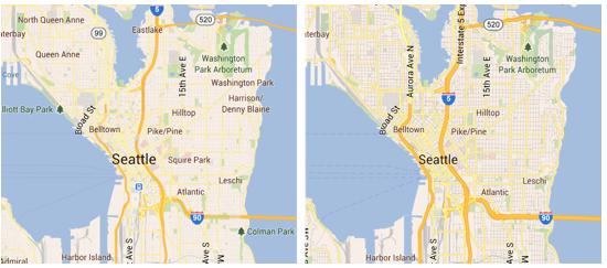 Google Map 6.5 - harta