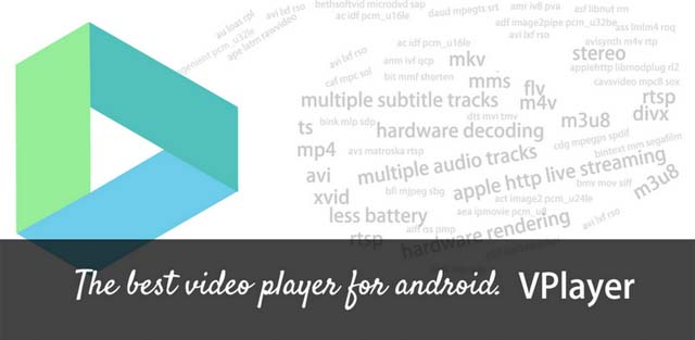Vplayer Android Top 10 aplicatii Android optimizate pentru tableta