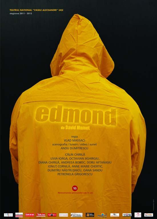 Afis Edmond, premiera Teatrul National iasi