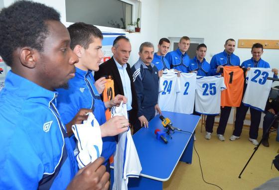 Fotbalisti noi la Poli Iasi