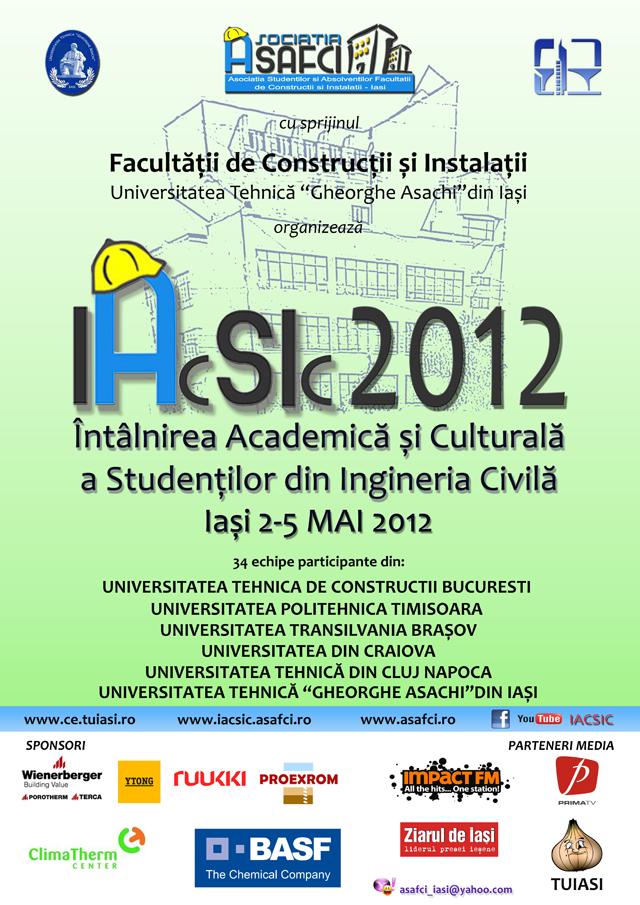 Afis IACSIC 2012