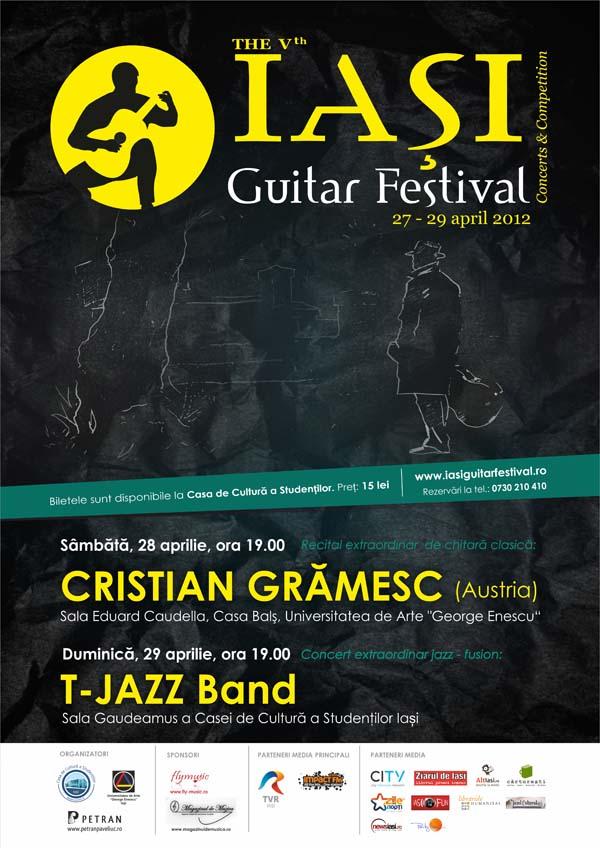 Afis Iasi Guitar Festival 2012