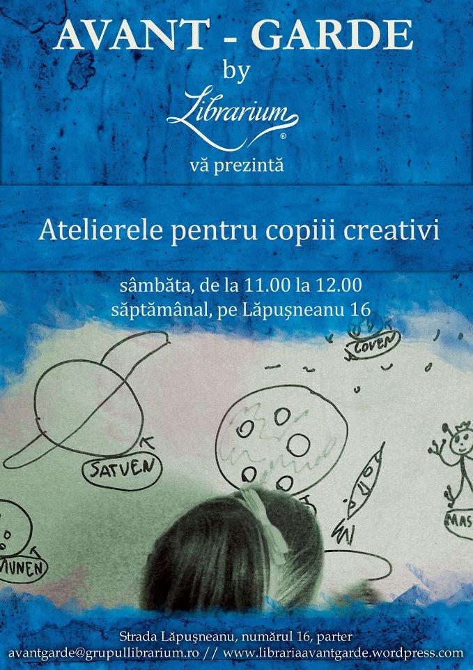 Atelierele pentru copii creativi