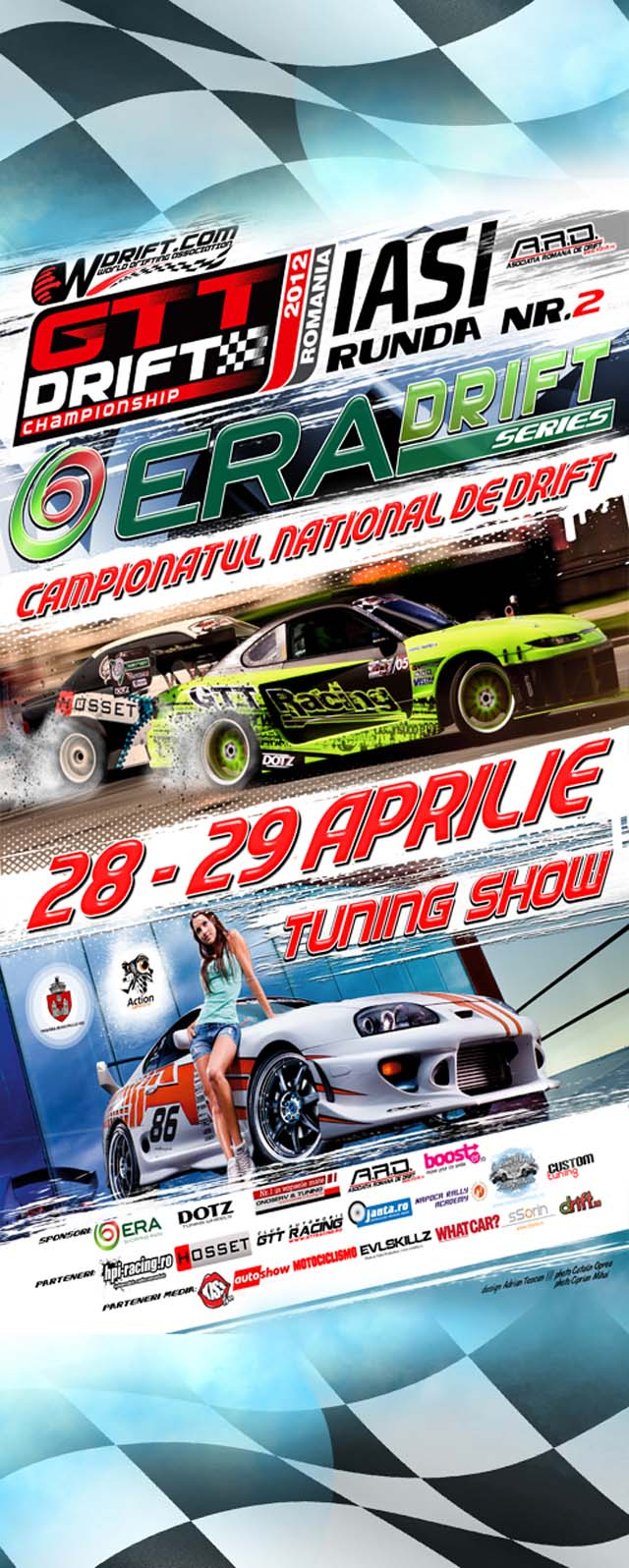 Campionatului National de Drift – GTT Drift Championship, 28 , 29 aprilie la ERA Park
