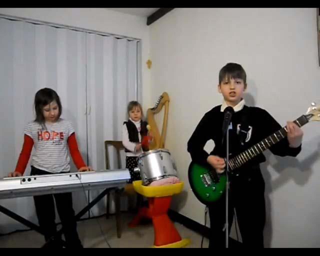 Children Medieval Band