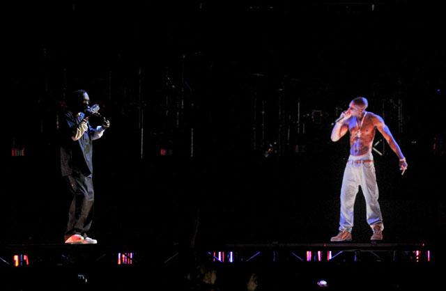 Holograma Tupac