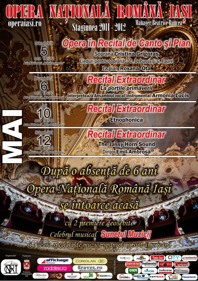 Opera Nationala Iasi - luna mai
