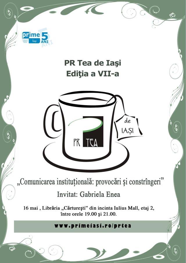 PR Tea de Iasi - 16 mai 2012