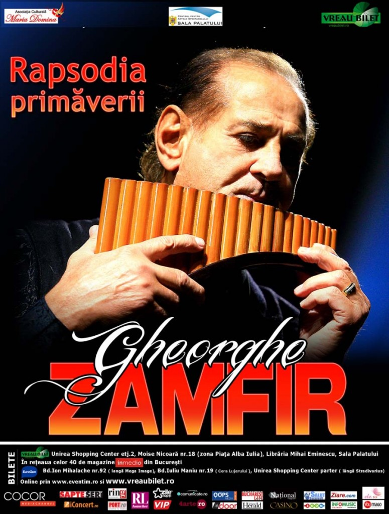 Rapsodia Primaverii - Gheorghe Zamfir